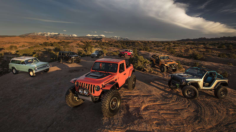 Testing The 2018 Easter Jeep Safari Custom Off Roaders In Moab   Autoblog