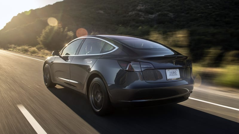 Here are the top 5 trade-ins for Tesla Model 3s