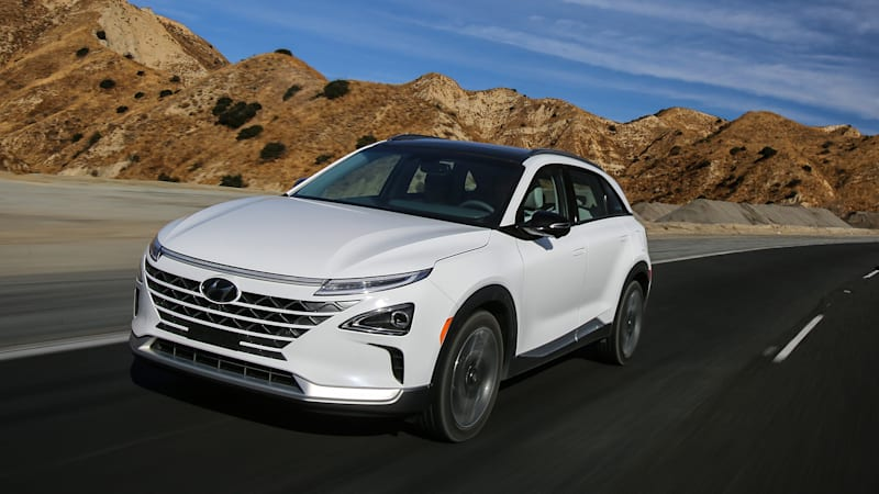 2019 Hyundai Nexo Hydrogen Fuel Cell Vehicle Test Drive Autoblog