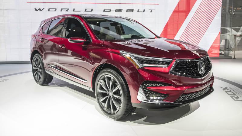 Acura Unveils All New Rdx Prototype At Detroit Auto Show