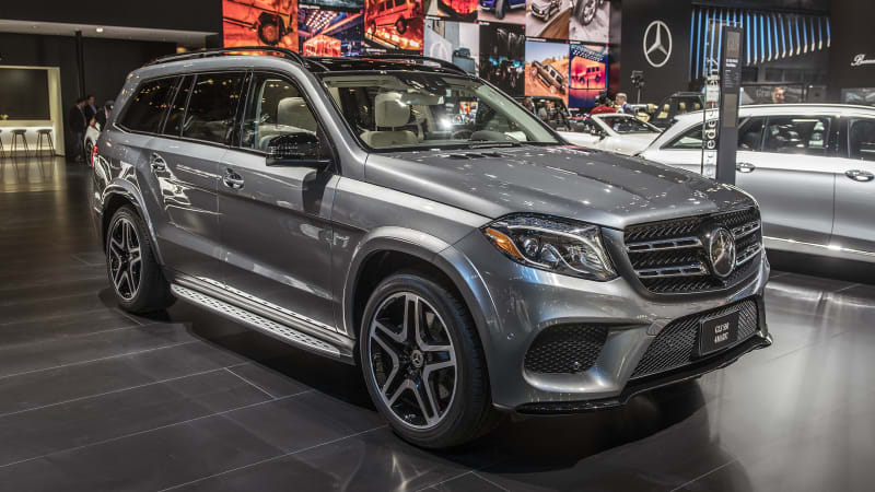 2018 mercedes benz gls class grand edition will make its debut at the detroit auto show autoblog. Black Bedroom Furniture Sets. Home Design Ideas