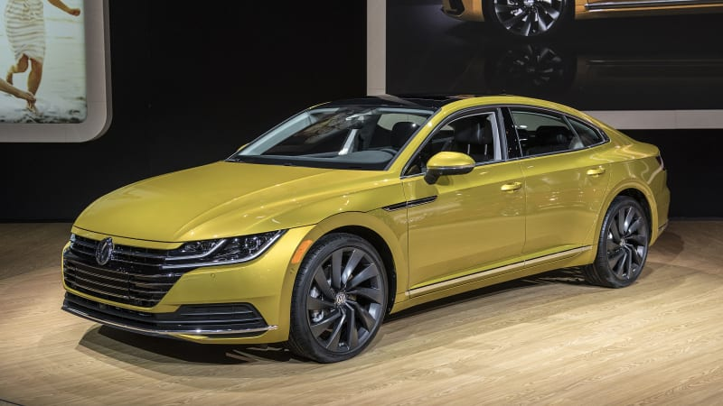 2019 vw arteon four door coupe revealed for u s autoblog. Black Bedroom Furniture Sets. Home Design Ideas