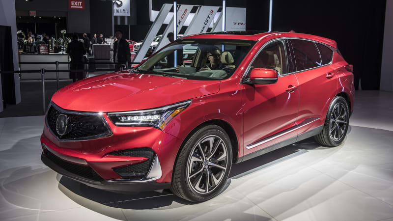 2019 acura rdx debuts in n y with a spec version and turbo power autoblog. Black Bedroom Furniture Sets. Home Design Ideas