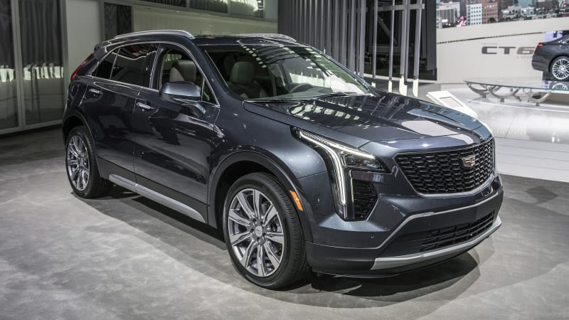 2019 Cadillac Xt4 Crossover Will Battle Lincoln Mkc After Nyc Debut Autoblog