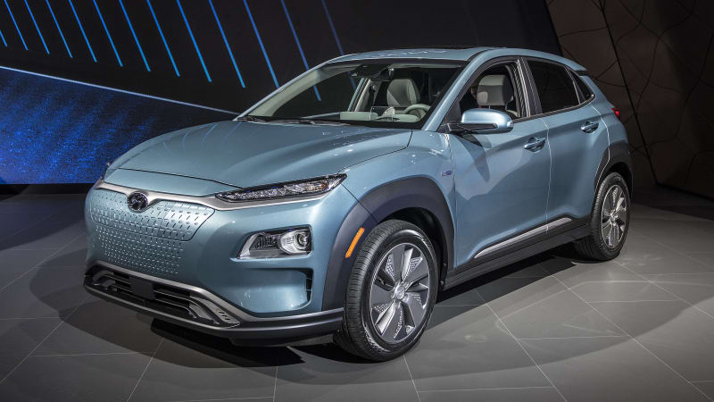 hyundai kona ev rated for 250 miles of range in u s specs autoblog. Black Bedroom Furniture Sets. Home Design Ideas