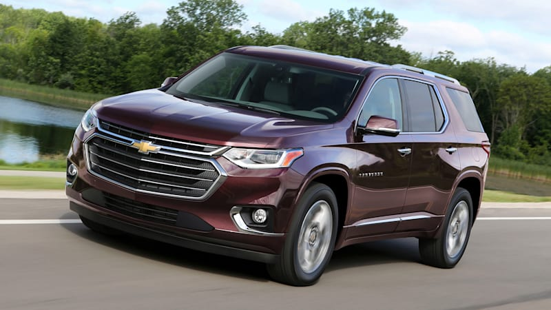 2018 chevy traverse first drive bigger but not the best autoblog. Black Bedroom Furniture Sets. Home Design Ideas