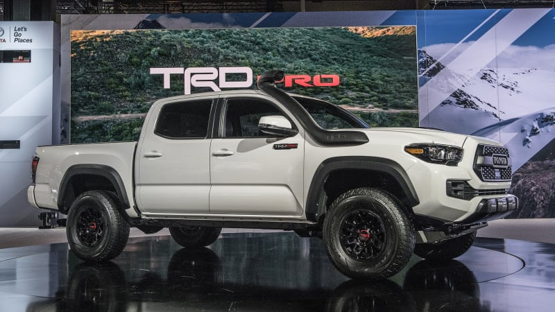 Toyota 2019 TRD Pro trucks amp up performance features for ...