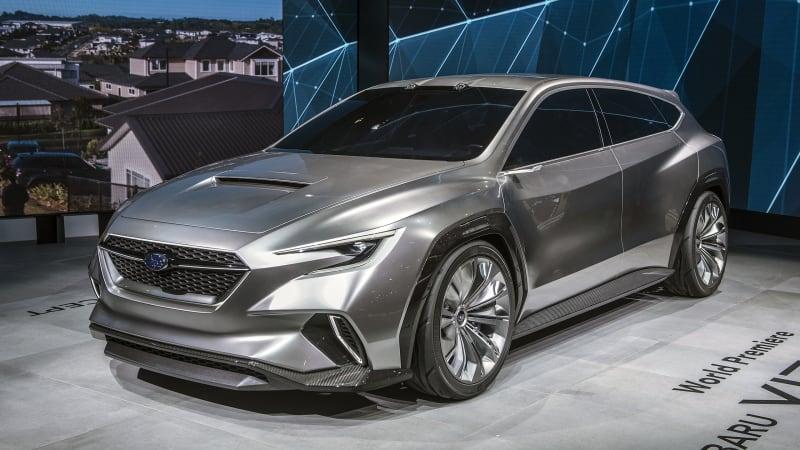 subaru viziv tourer concept previews 2020 wrx wagon autoblog. Black Bedroom Furniture Sets. Home Design Ideas