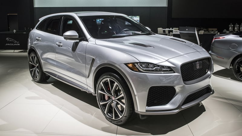 2019 Jaguar F-Pace SVR: News, Design, Engine, Price >> Jaguar F Pace Svr Revealed With 550 Hp 4 1 Second 0 60 Time