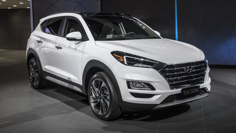 Hyundai Certified Pre Owned >> 2019 Hyundai Tucson refresh revealed at New York Auto Show - Autoblog