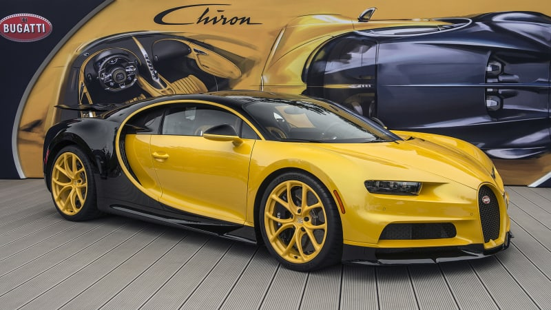 First U.S. Bugatti Chiron delivered to customer at Pebble Beach