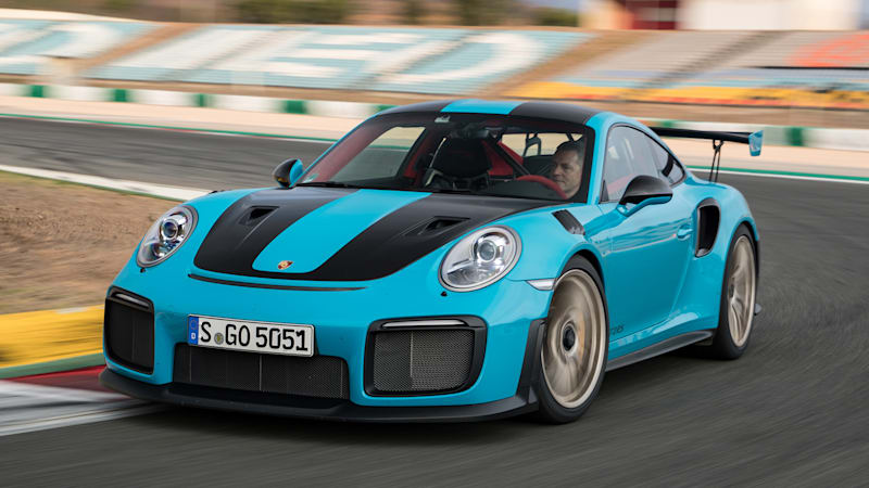 2018 porsche 911 gt2 rs first drive review track testing the 700 horsepower king of the. Black Bedroom Furniture Sets. Home Design Ideas