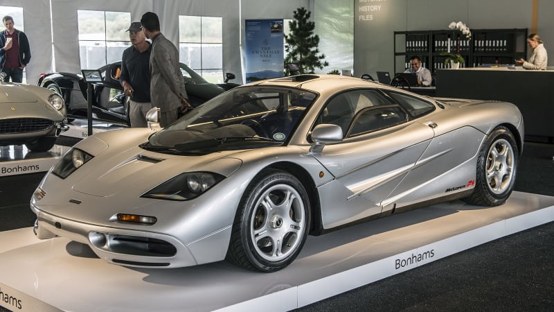 McLaren F1 sells for $15.62 million at Bonhams auction - Autoblog