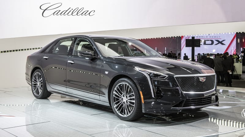 cadillac launches ct6 v sport with hot 550 horsepower twin turbo v8 autoblog. Black Bedroom Furniture Sets. Home Design Ideas