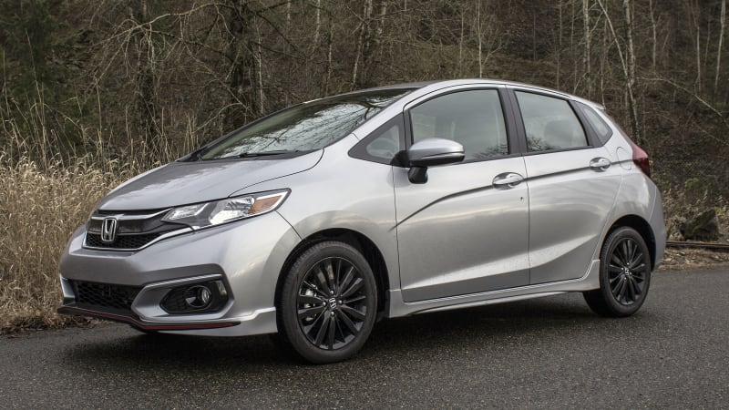 2018 honda fit sport review and driving impressions autoblog for Certified used honda fit