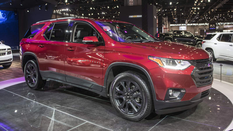 2018 Chevy Traverse RS performance crossover with a turbo ...