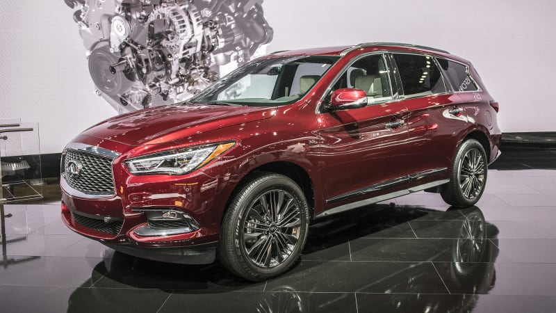 Pre Owned Cars >> 2019 Infiniti QX60 and QX80 introduced with new range-topping Limited trim levels - Autoblog