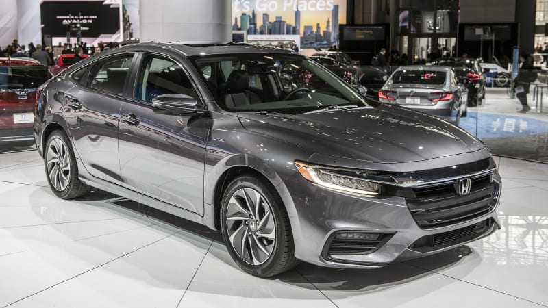 honda reveals 2019 insight hybrid for new york show autoblog. Black Bedroom Furniture Sets. Home Design Ideas