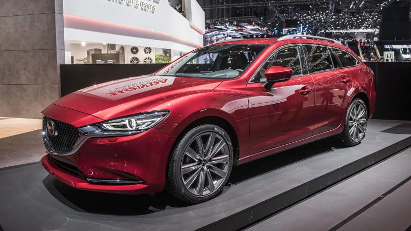 Mazda6 Wagon Revealed At The Geneva Motor Show Autoblog