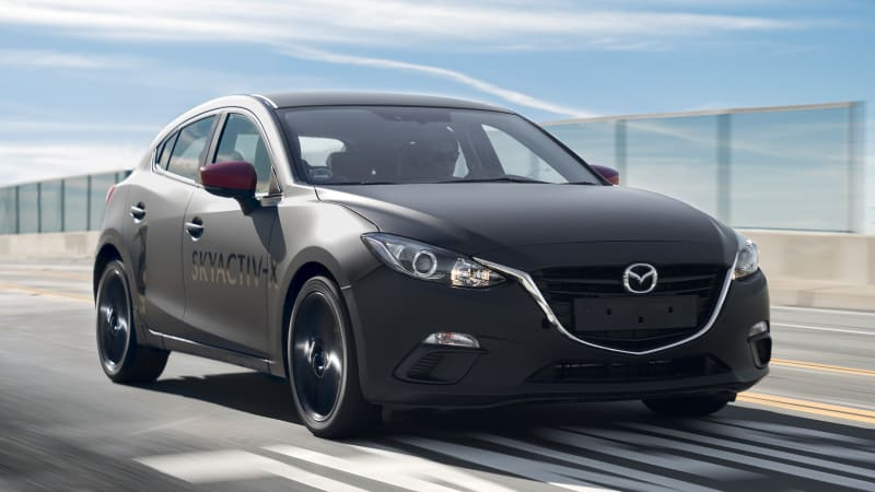 mazda skyactiv x compression ignition prototype first drive review autoblog. Black Bedroom Furniture Sets. Home Design Ideas
