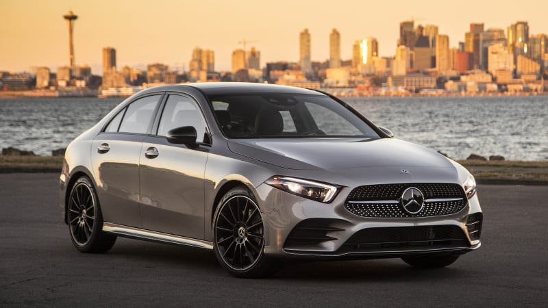 2019 Mercedes Benz A Class Sedan Road Test Review Autoblog