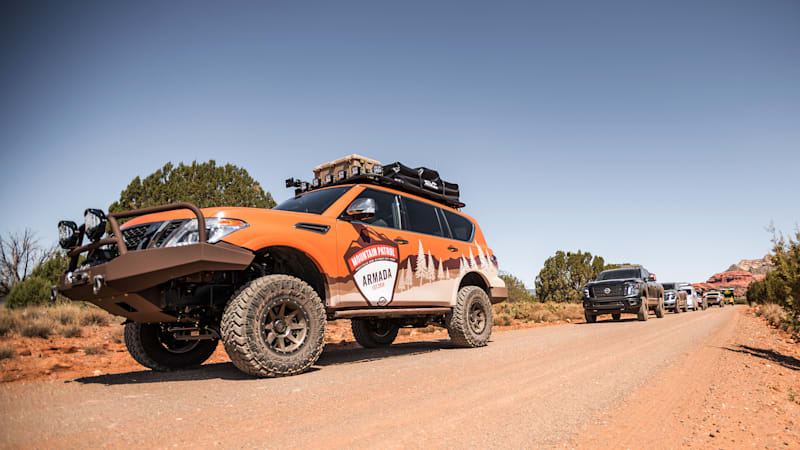 Nissan Armada Mountain Patrol Quick Spin Review