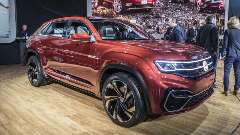 2020 VW Atlas Cross Sport, Changes, Price >> Vw Atlas Sport Concept Previews New Five Seat Crossover For
