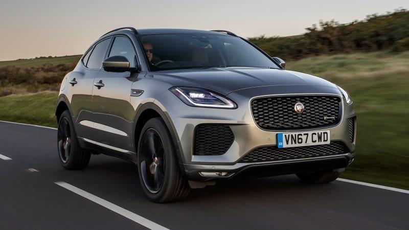2018 jaguar e pace first drive review road test autoblog. Black Bedroom Furniture Sets. Home Design Ideas