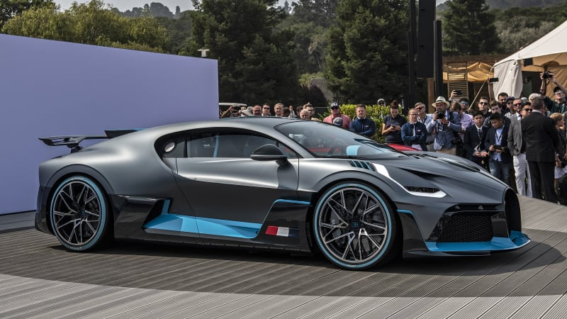 How To Make A Car Faster >> Bugatti Divo is 'for the bends,' while the Chiron is for the straights - Autoblog