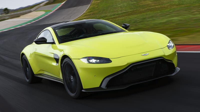 2019 Aston Martin V8 Vantage Road Test Review And Specs Autoblog