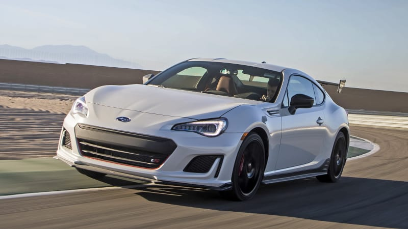 Subaru BRZ tS First Drive Review
