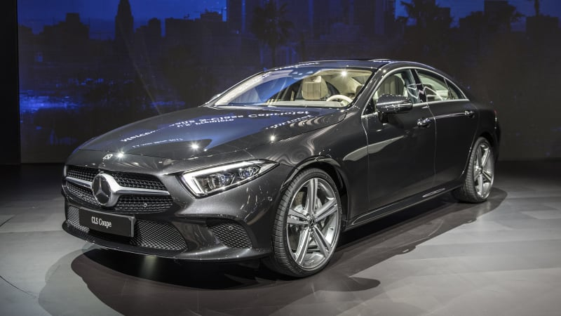 Nuova Cla Mercedes 2018 >> Mercedes reveals the 2019 CLS with an inline-six engine at the L.A. Auto Show - Autoblog