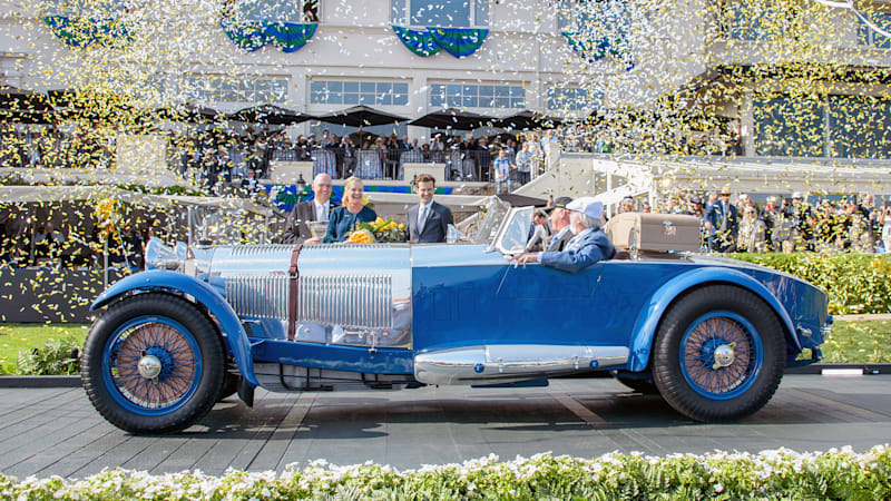 1929 Mercedes-Benz S Barker Tourer wins 2017 Pebble Beach Best of Show