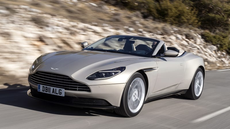 Aston Martin Db11 Volante First Drive Review Autoblog