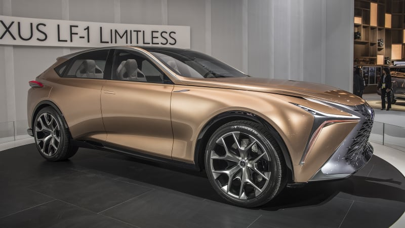 lexus lf 1 limitless luxury crossover concept debuts at naias autoblog. Black Bedroom Furniture Sets. Home Design Ideas