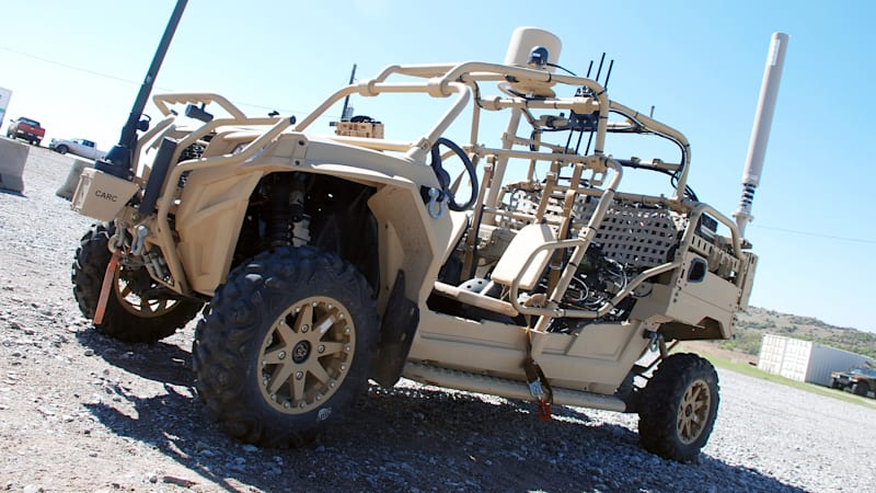Deadly dune buggies: Army tests vehicles for 21st-century