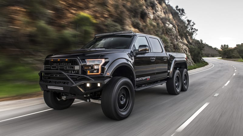 Ford F 150 6x6 >> Hennessey VelociRaptor 6x6 modified Ford F-150 road test review - Autoblog