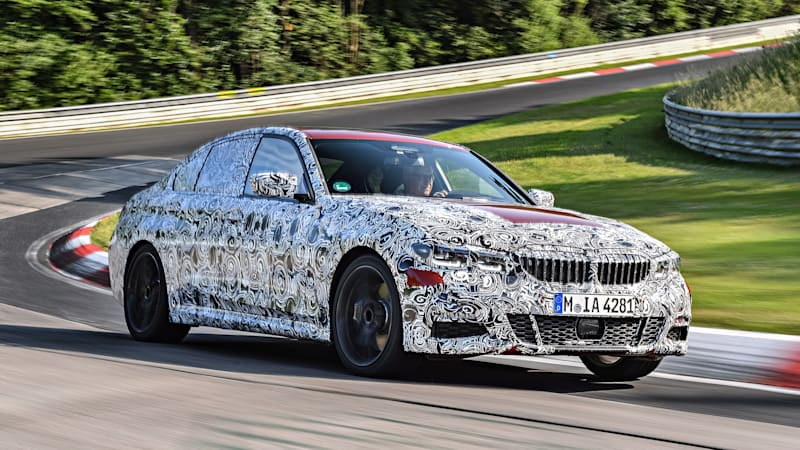 2019 Bmw 3 Series Prototype Road Test Review Autoblog