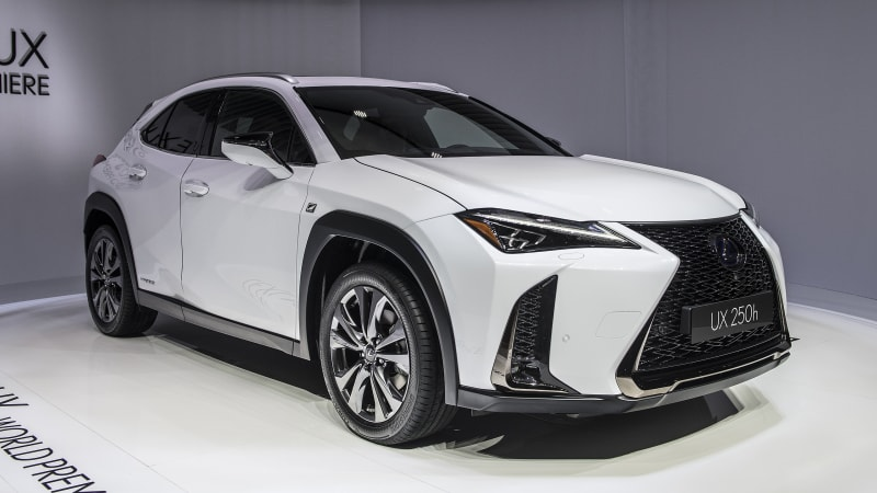 2019 Lexus Ux 200 And 250h