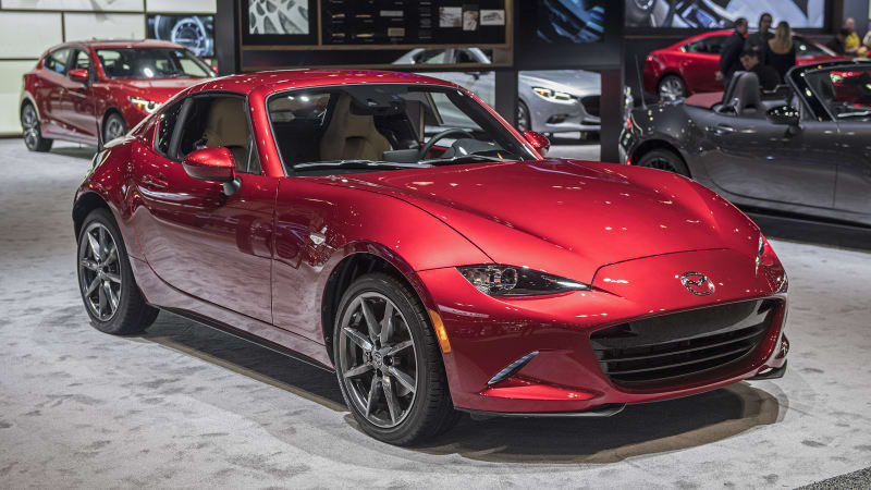 2018 mazda mx 5 miata and mx 5 miata rf pricing is announced autoblog. Black Bedroom Furniture Sets. Home Design Ideas