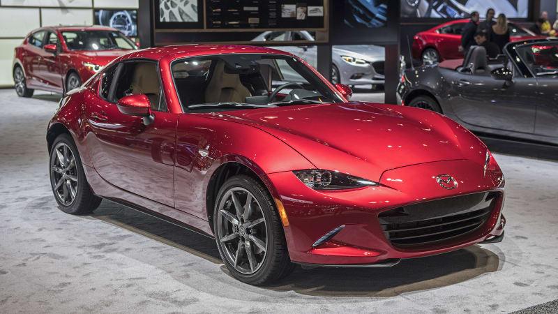 2018 Mazda Mx 5 Miata And Mx 5 Miata Rf Pricing Is Announced Autoblog