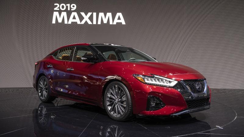 New Nissan Maxima >> 2019 Nissan Maxima Gets More Tech Amid Modest Updates Autoblog