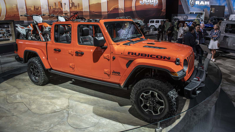 2020 Jeep Wrangler EcoDiesel Release Date >> 2020 Jeep Gladiator Pickup Truck S Full Specs And Photos