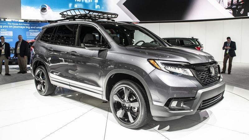 2019 Honda Passport Debuts At L A Auto Show Autoblog