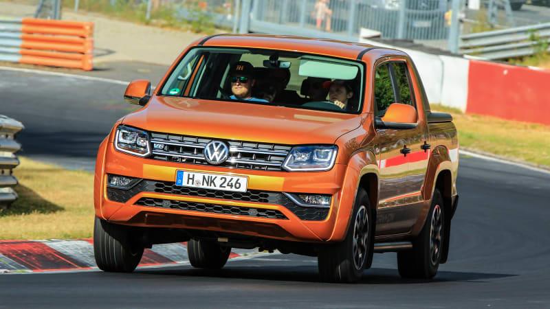 2018 Volkswagen Amarok Pickup Track Test Review