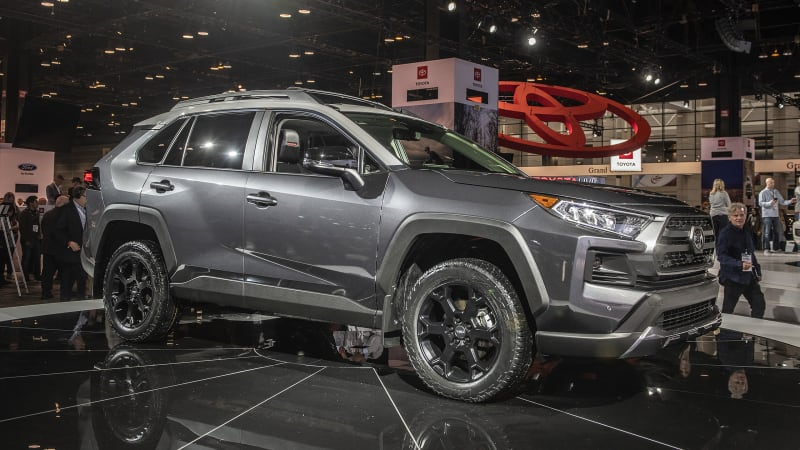2019 Toyota RAV4 TRD Off-Road improves on Toyota's best-selling model