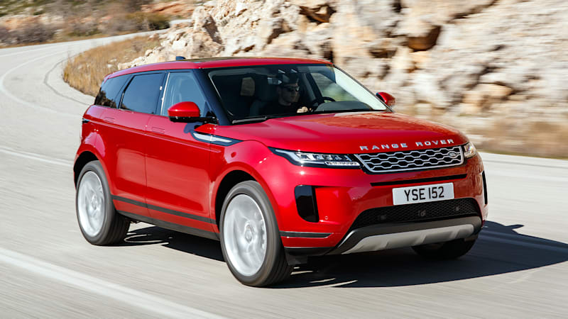2020 Range Rover Evoque First Drive Review