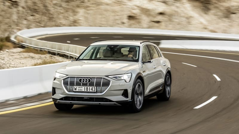 Audi E-Tron official EPA-rated electric range announced