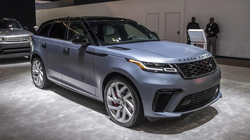 New Range Rover models illustrate Land Rover's design ethos