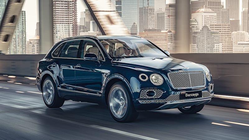 Bentley Bentayga Plug-in Hybrid First Drive Review